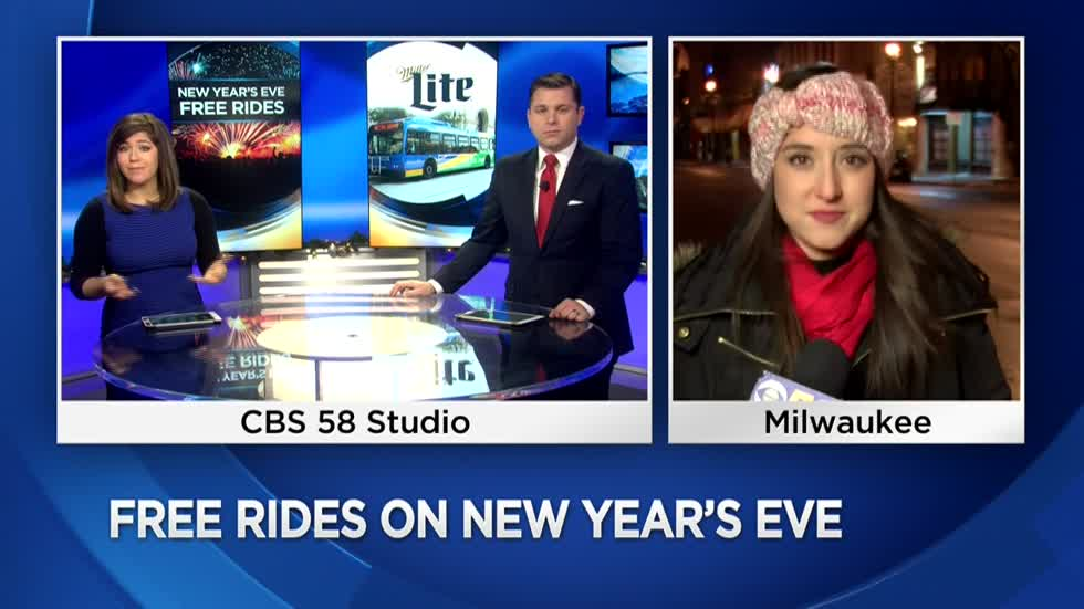 Free bus rides for New Year's Eve in Milwaukee County