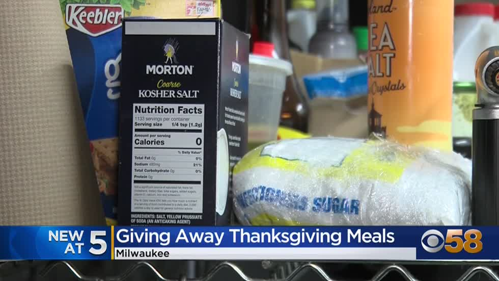 Organization, local business makes hundreds of free meals to...