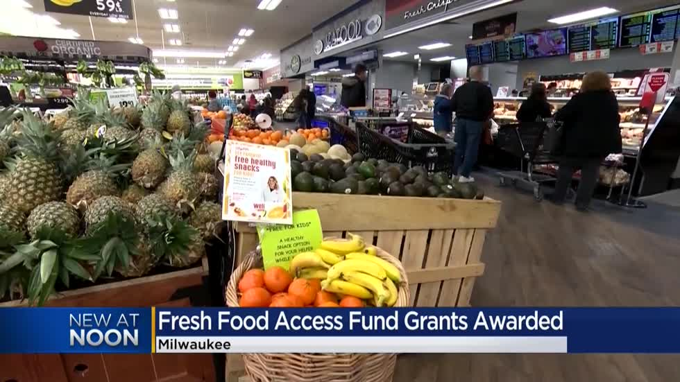 Grant money awarded to 24 Milwaukee programs to increase access to fresh food in underserved areas
