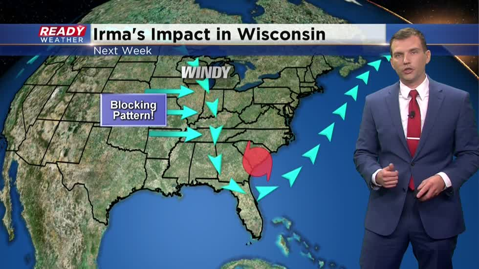 Will Wisconsin see impacts from Irma next week?