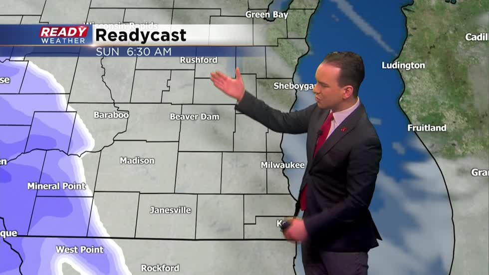 Widespread snow on the way for Sunday