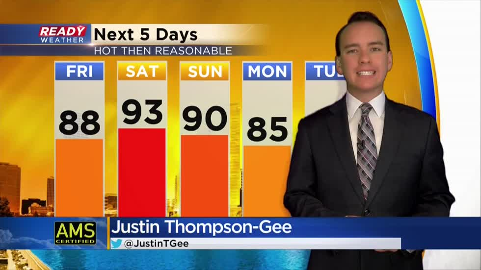 Most humid air of summer arrives this weekend; heat advisory issued