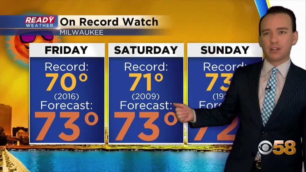 Record watch continues through the weekend