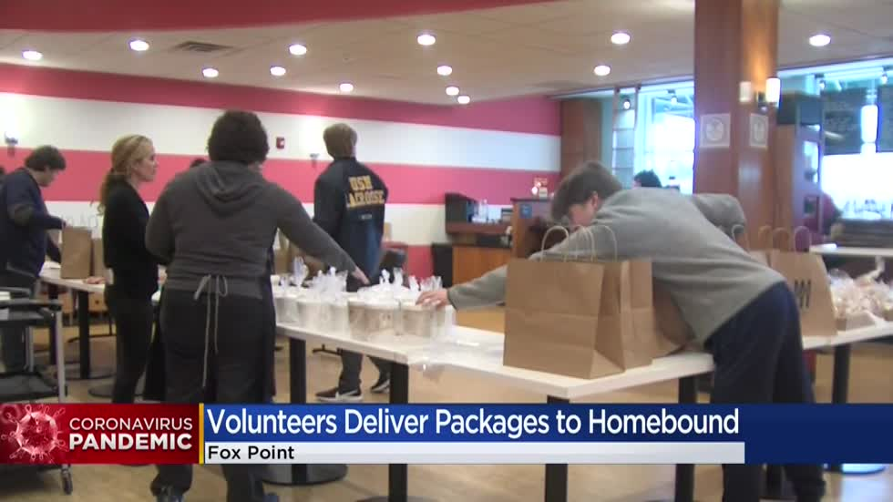 Friendship Circle of Wisconsin delivers packages to homebound residents