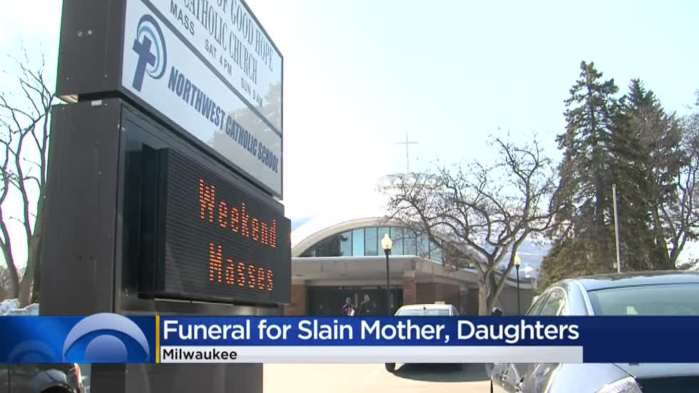 'The pain is there, but there's joy': Funeral services held for Milwaukee mother, two daughters