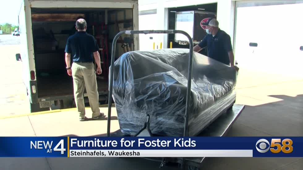 Steinhafels donates more than $20K in furniture to former foster...