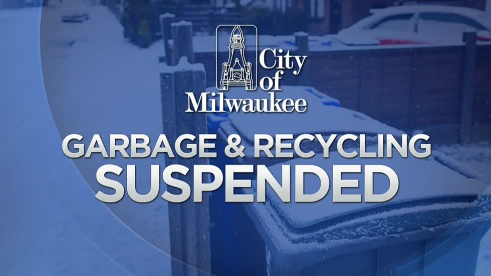 Garbage and recycling suspended Monday in Milwaukee, alternate side parking in effect