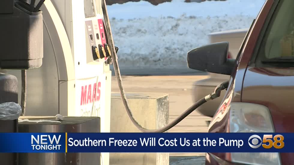 Gas prices to increase as Texas refineries freeze
