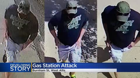 ' Man sprayed irritant at Speedway gas station customer, employees