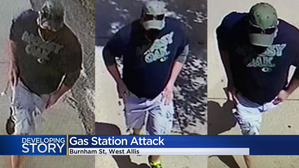 'It's outrageous:' Man sprayed irritant at Speedway gas station customer, employees