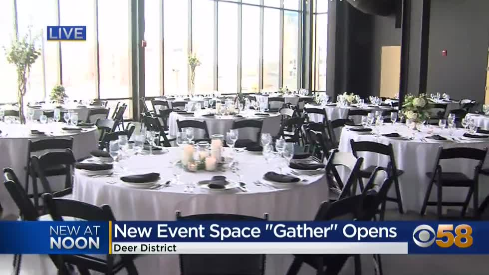 New event space Gather at the Deer District opening in Milwaukee