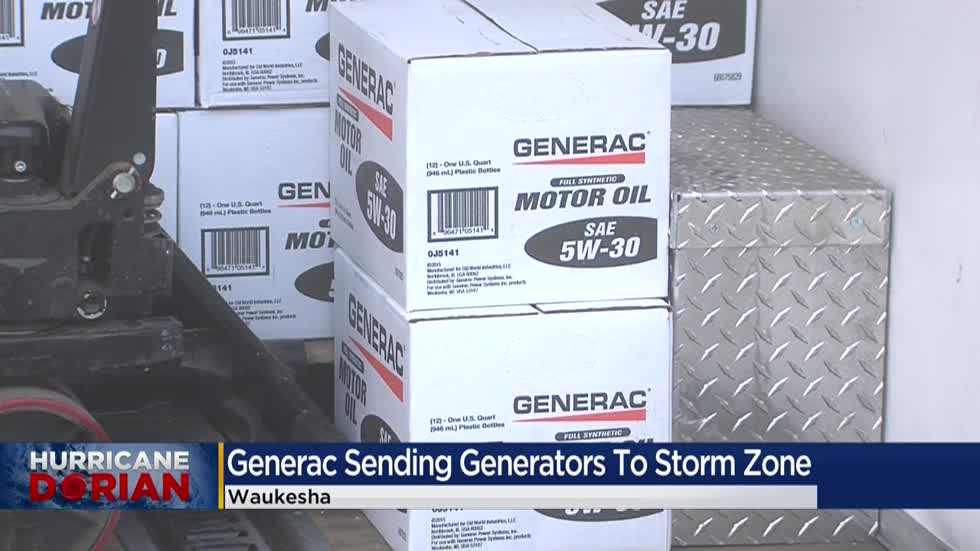 Waukesha's Generac Power Systems sending generators to storm zone