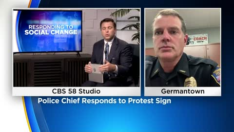 One on one: Germantown police chief shares his thoughts on protest movement