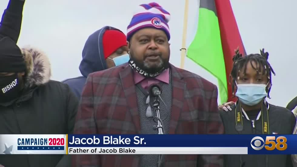 Families of Jacob Blake, Alvin Cole lead 'Get Out the Vote'...