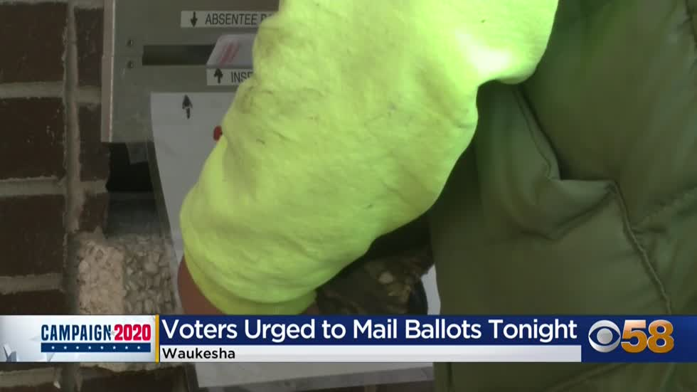 Wisconsin officials advise dropping absentee ballots off in person,...
