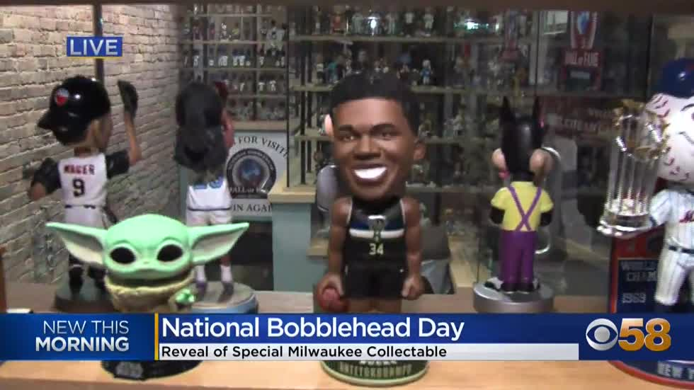 National Bobblehead Hall of Fame and Museum releases new Giannis figure