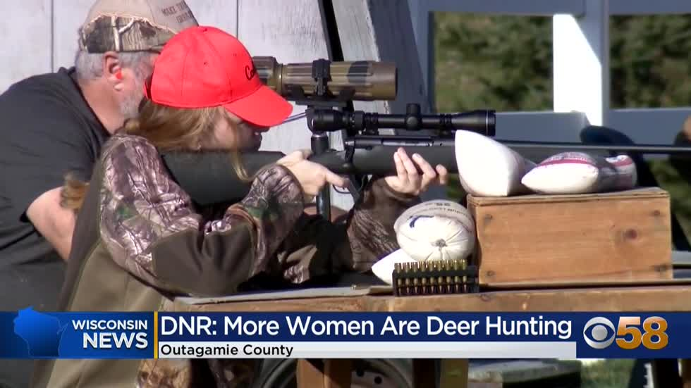 More women are hunting this year