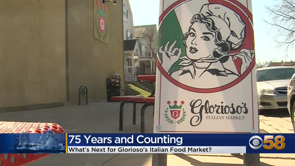 A 'market' milestone for Glorioso's: 75 years of serving...