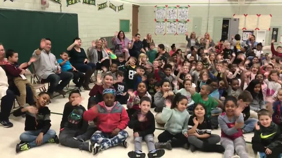 Tornado Ready at Goodland Elementary in Racine