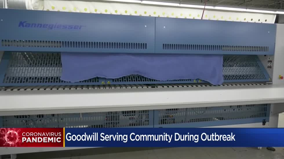 Goodwill battling COVID-19 with its cleaning services, job placement