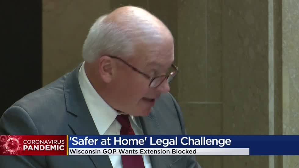 Court could rule to block Wisconsin's 'Safer at Home' order as early as April 30