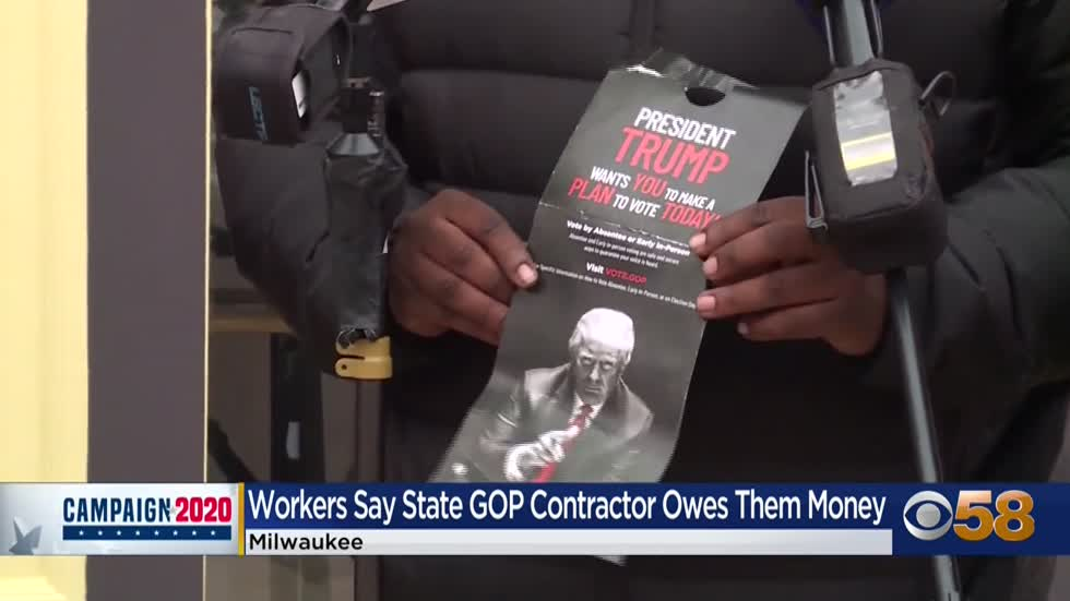 WI GOP subcontractor fired, political canvassers claim they weren't...