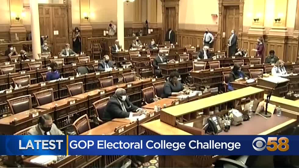 Republicans and Democrats respond to plan from some Republicans to object to Electoral College results