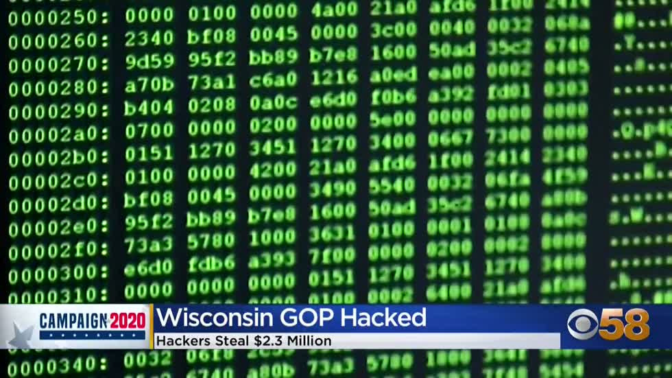 Wisconsin Republican Party says hackers stole $2.3 million from...