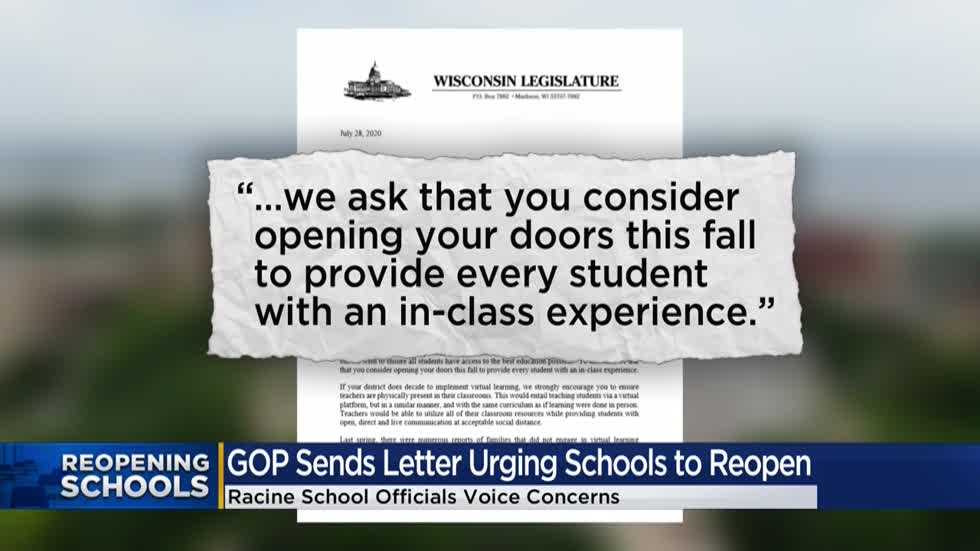 Assembly GOP letter to schools pushes opening for in-person classes