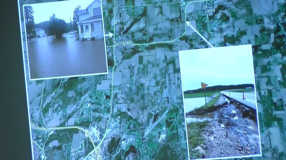 Gov. Walker's Cabinet meeting with counties hit hard by flooding