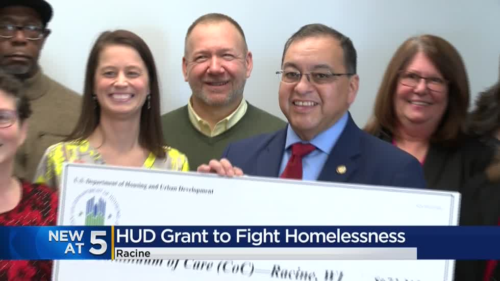 Racine receives big financial boost in effort to end homelessness