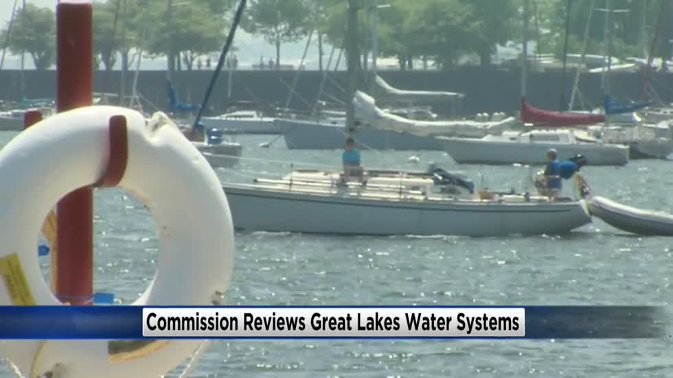 Commission reviews Great Lakes Water Systems