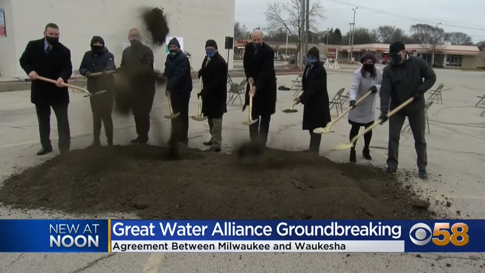 Milwaukee, Waukesha leaders work together for Great Water Alliance...