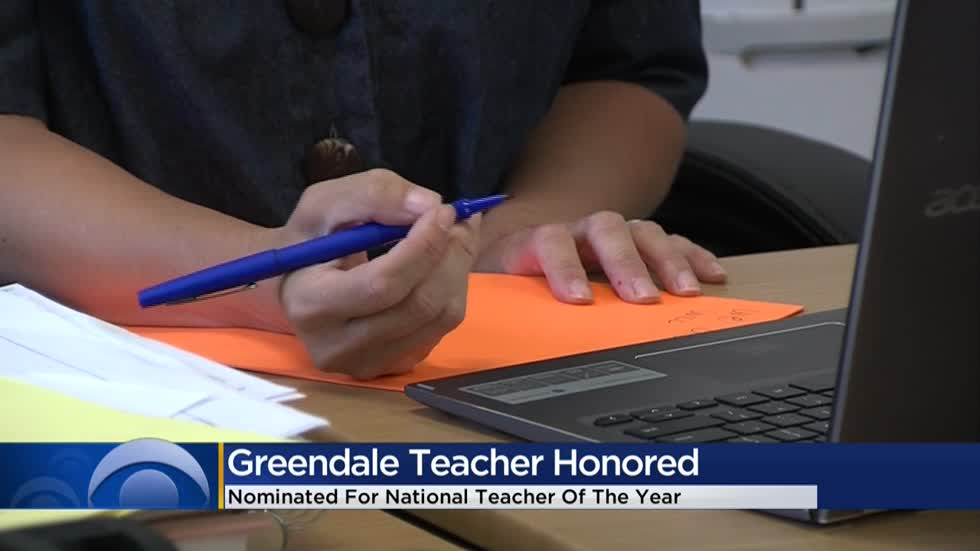 Greendale woman nominated for National Teacher of the Year