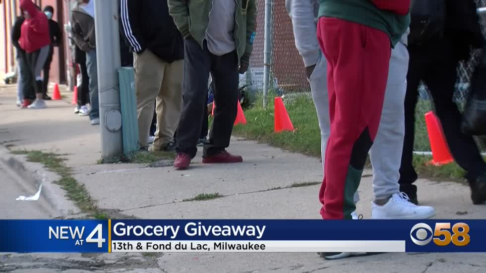 The Gathering's grocery giveaways prove to be a success