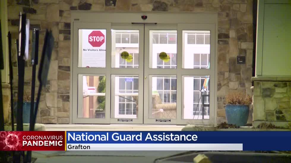 Six National Guard medics staffed at Grafton care facility with positive COVID-19 cases