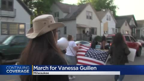 March for justice for Vanessa Guillen takes place in Milwaukee
