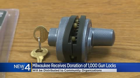Master Lock donates 1,000 gun locks to city of Milwaukee