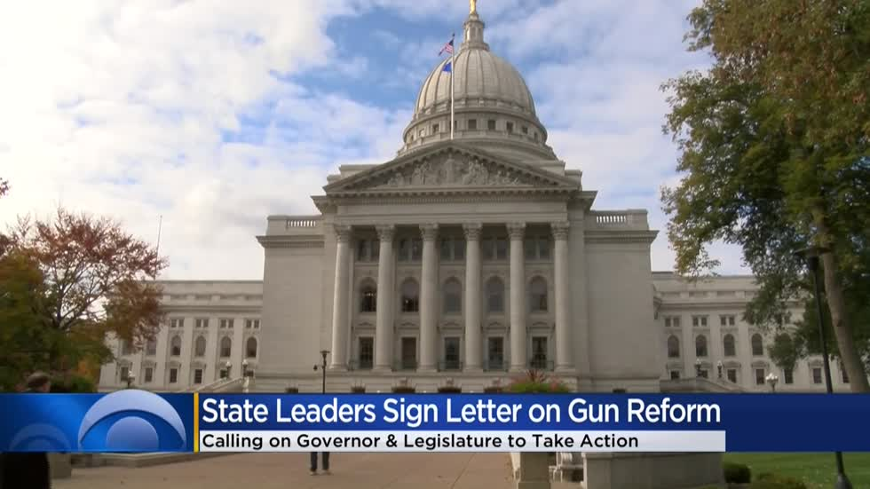Local leaders calling on Gov. Evers and Legislature to take action on gun violence