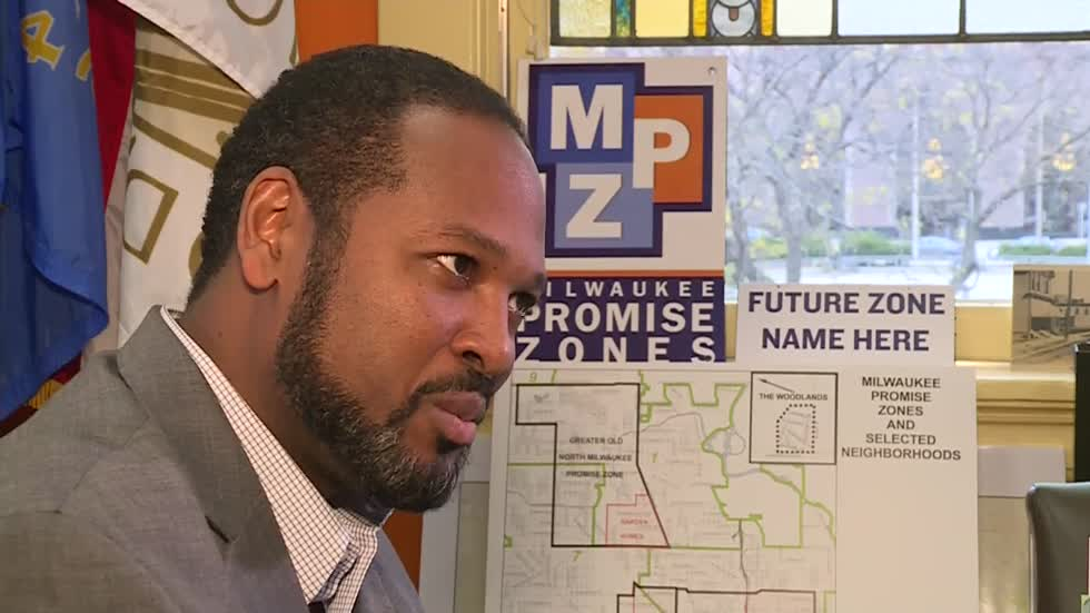 Ashanti Hamilton makes his case for mayor of Milwaukee