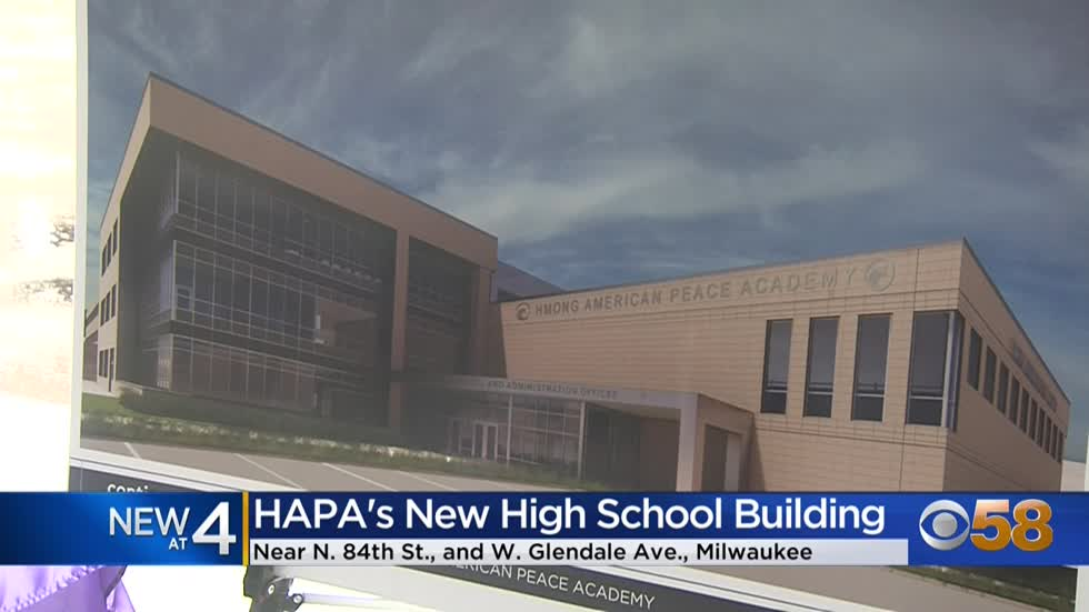 Hmong American Peace Academy's new high school to be complete...