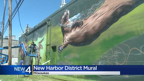 A new nature-themed mural is coming to the Harbor District