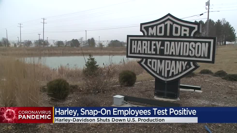 Harley-Davidson suspends most US production, Menomonee Falls employee tests positive for coronavirus