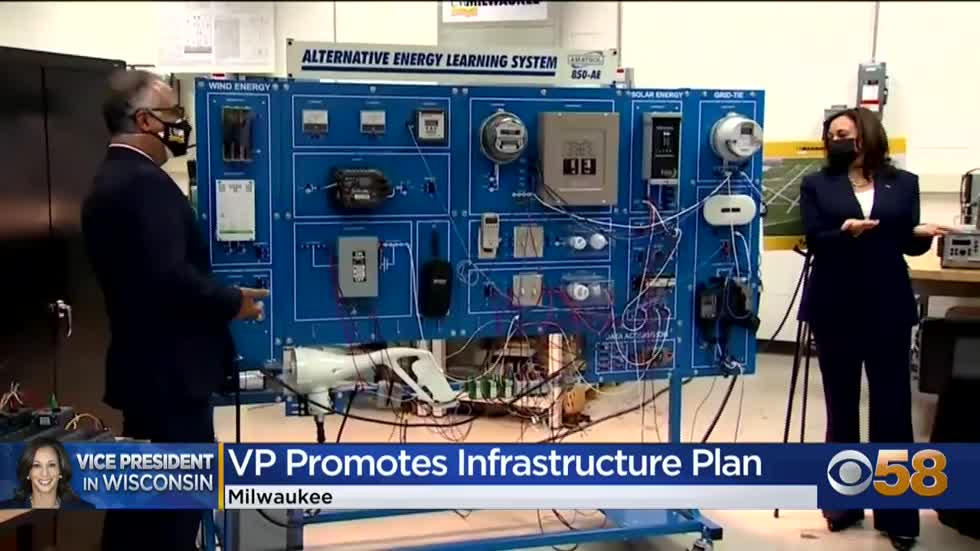 Milwaukee first stop on White House infrastructure push