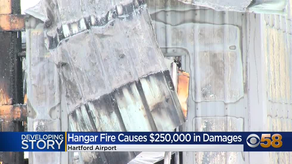 Hartford Airport fire causes $250K in damages