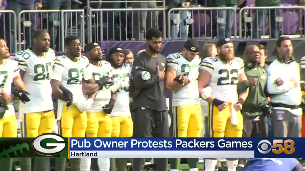 Hartland pub owner won't show Packers games, says players'...