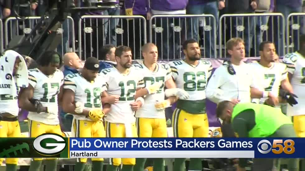 Hartland pub owner changes mind, says he will air Packers games...