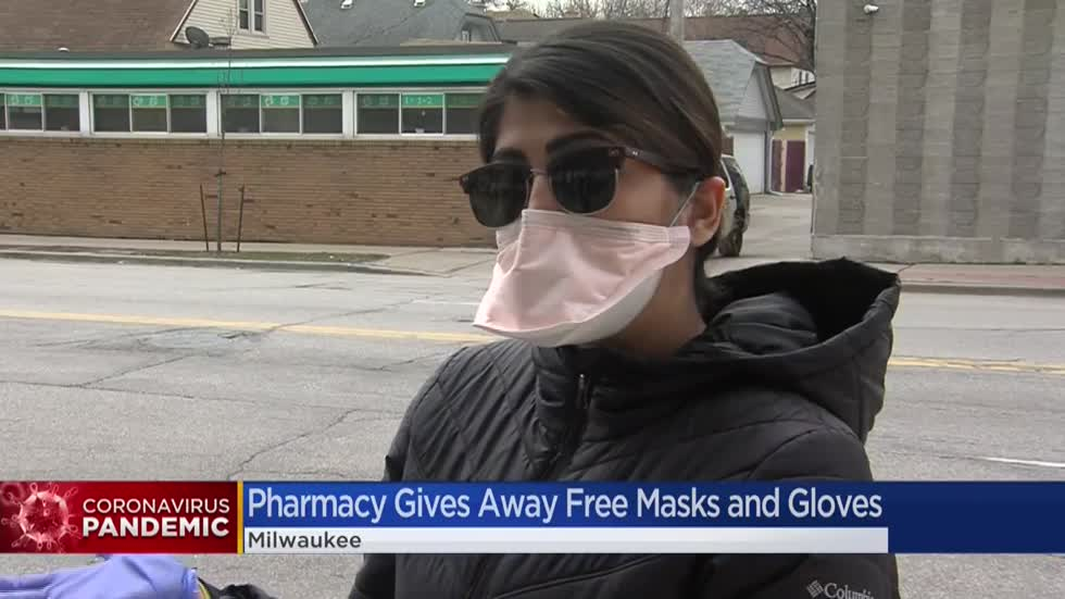 Hayat Pharmacy distributes thousands of masks, gloves on Milwaukee's north side