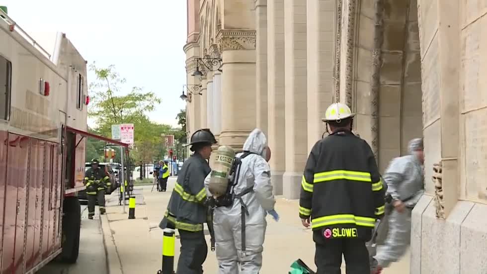 Suspicious powder found in envelope sent to Mayor's Office, Milwaukee Fire Department investigating