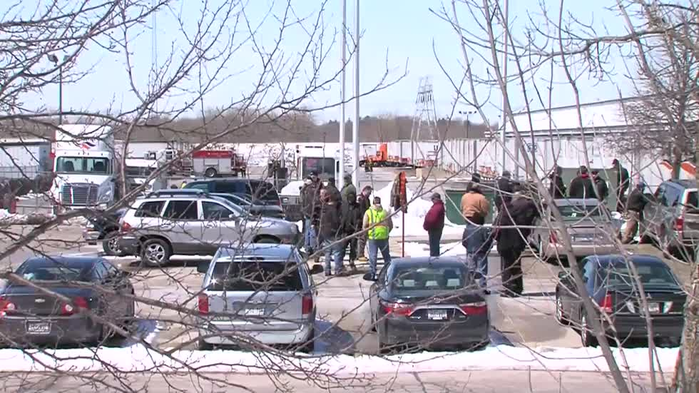 12 evaluated after Hazmat response at transportation company near airport
